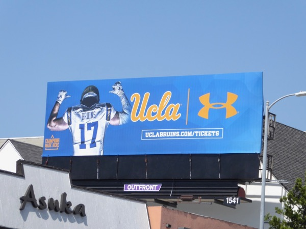UCLA Bruins 2017 tickets billboard