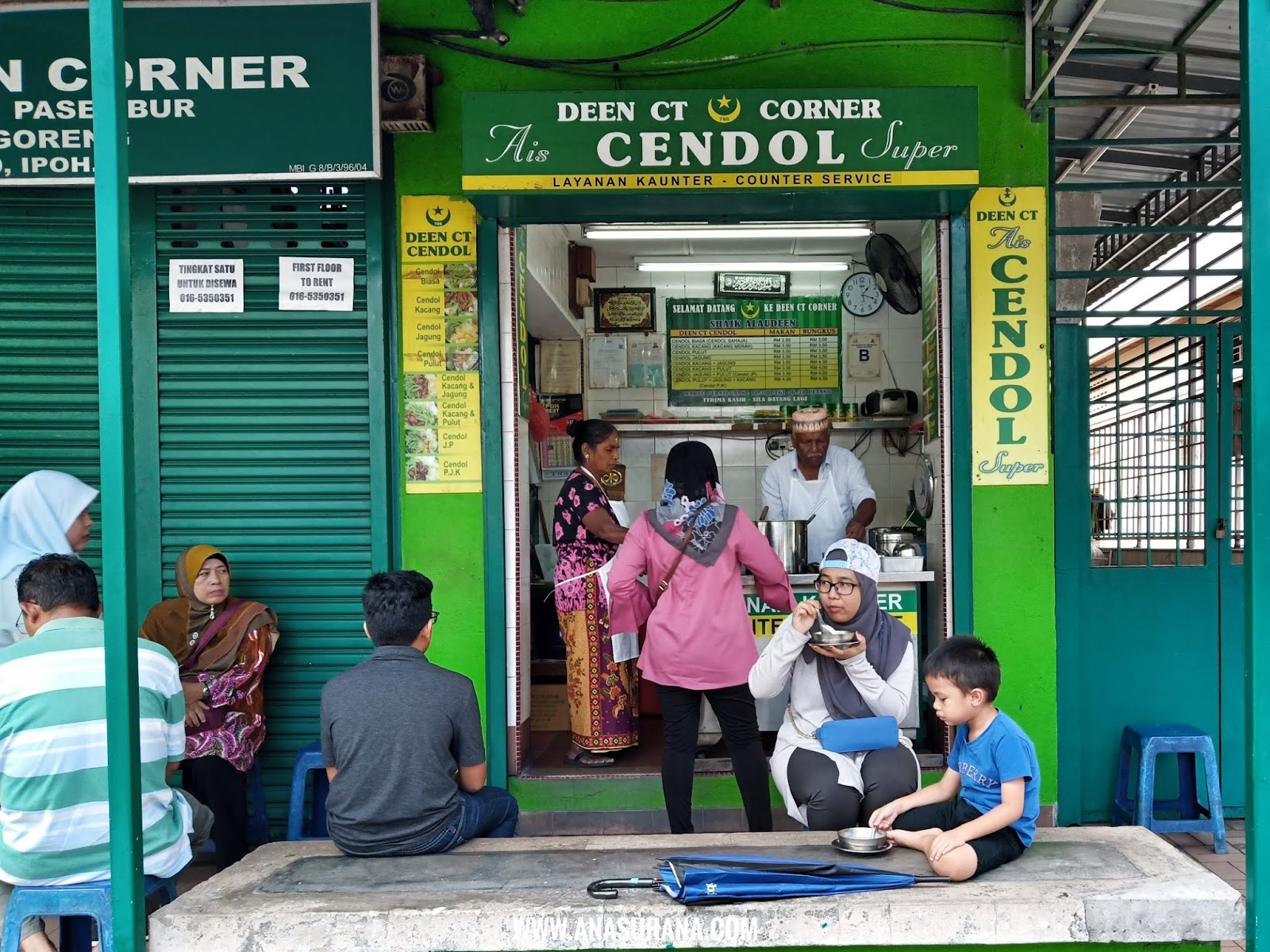 Deen CT Corner Cendol Ipoh