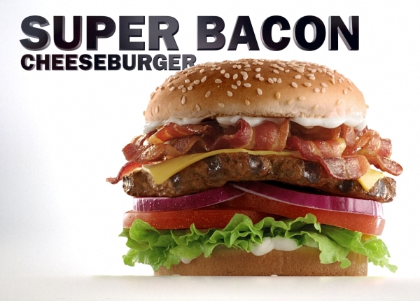 News carl 39 s jr hardee 39 s new super bacon cheeseburger for Carl s jr fish sandwich