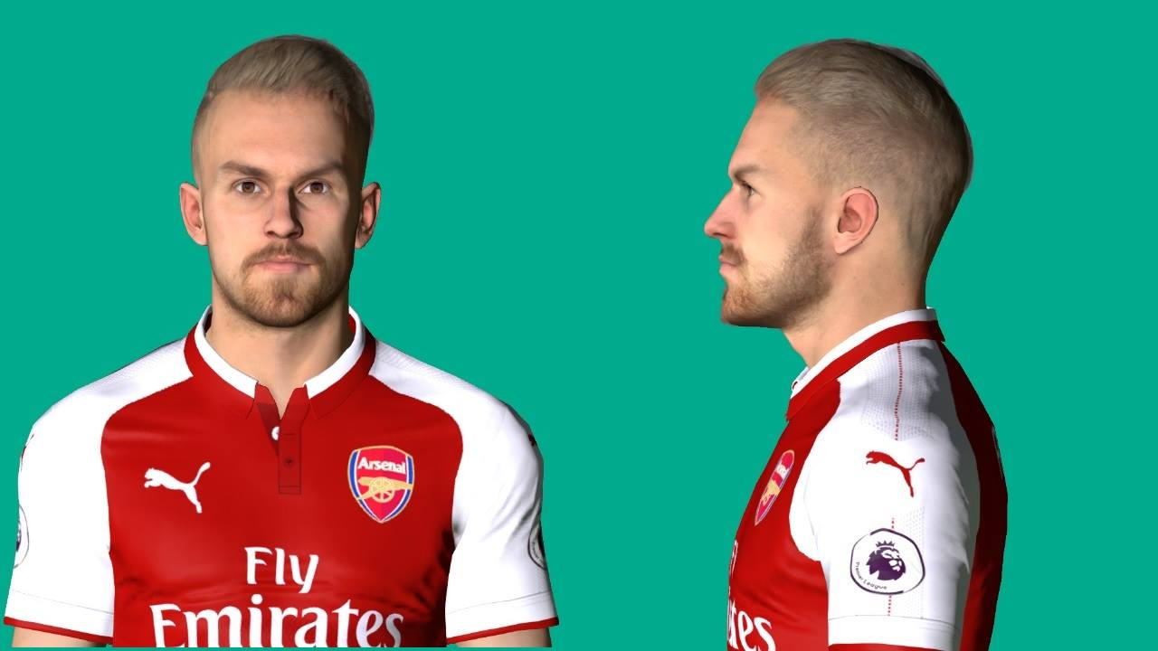 PES 2017 Ramsey Face V2 by Shenawy