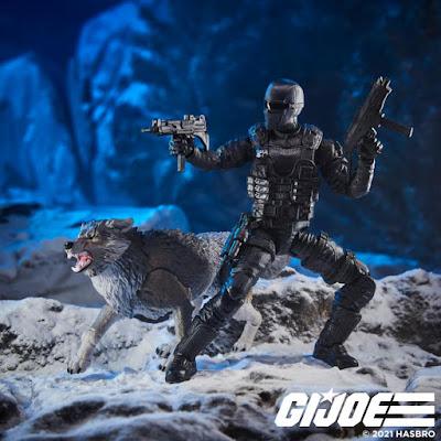G.I. Joe Classified Series Snake Eyes with Timber: Alpha Commandos Action Figure Set