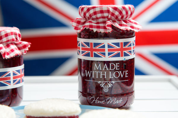 Long Life Raspberry And Bergamot Jam With Love From Friends of Glass