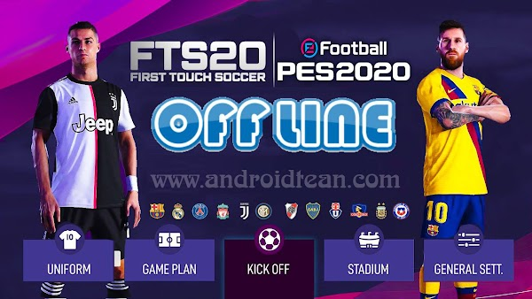eFootball 2020 MOD FTS 2020 Android Download