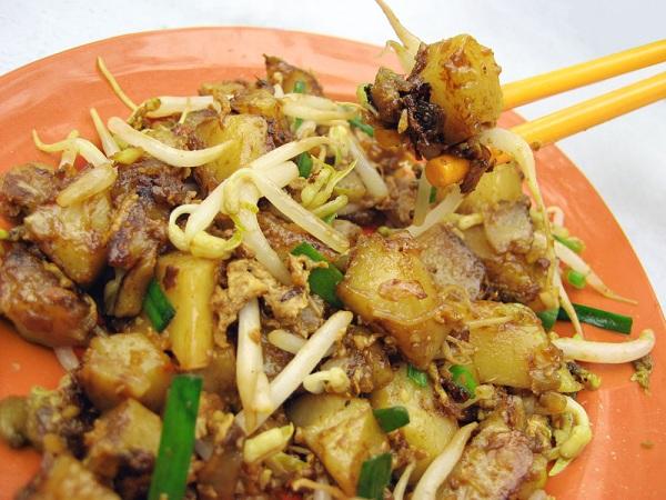 Chai Tao Kway món ăn từ củ cải