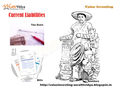 Slide shows as example various current liabilities