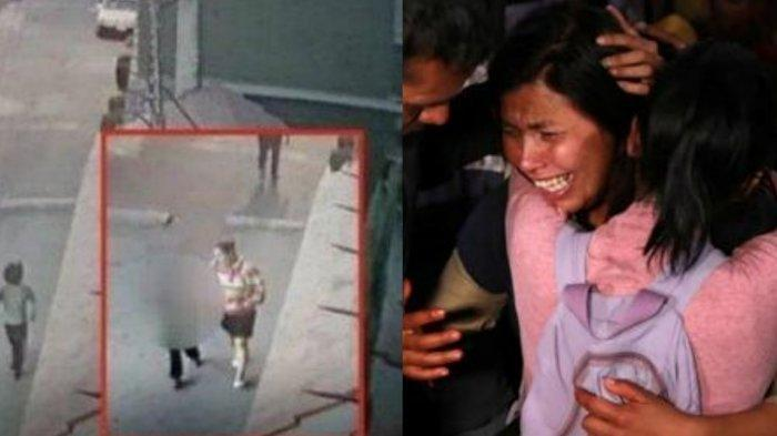 Telat Dijemput, Anak Diculik dan Dibunuh Dimasukkan Kantung Plastik Sampah, Penculik Terekam CCTV