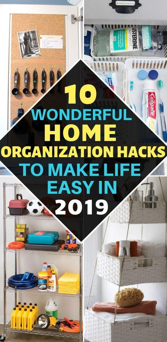 Home Organization Hacks That'll Make Your Life Easy