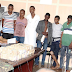 Photo of 9 suspected kidnappers of CBN governor, Godwin Emefiele's wife paraded