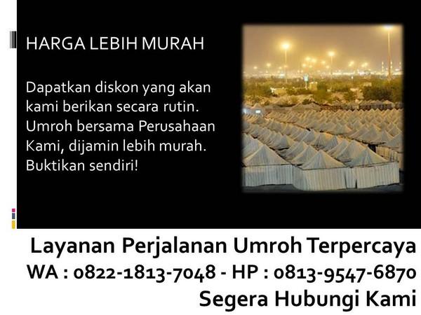 biaya umroh nur ramadhan bandung