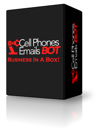 Cell Phones and Emails Bot +Reseller [Business In A Box] [PC and MAC]