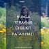 [DONGENG] BUNGA TERAKHIR DI BUKIT PATAH HATI