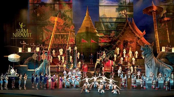 Buổi biểu diễn Siam Niramit