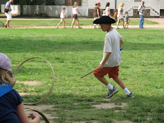 Colonial Williamsburg Fun on the Village Green