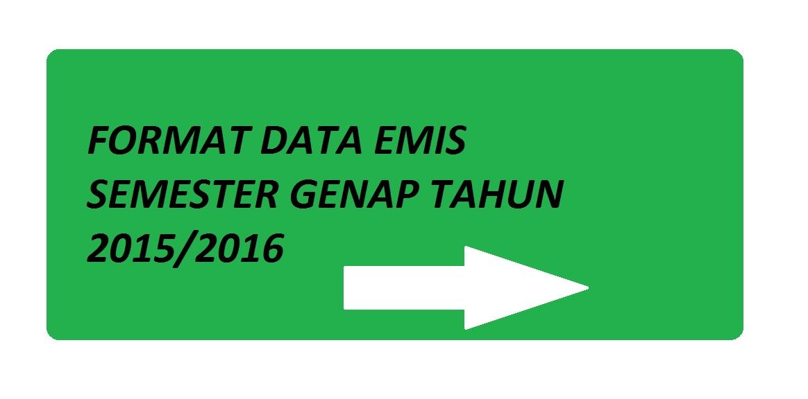 Download Format Data Emis Semester Genap 2015 2016