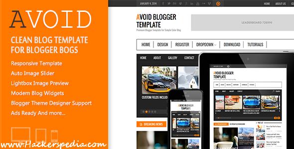 Avoid Blogger Template