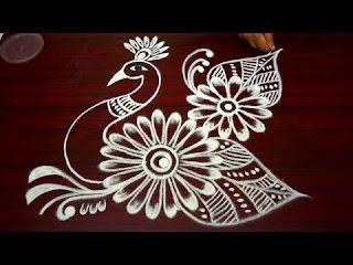 Dotted Rangoli designs