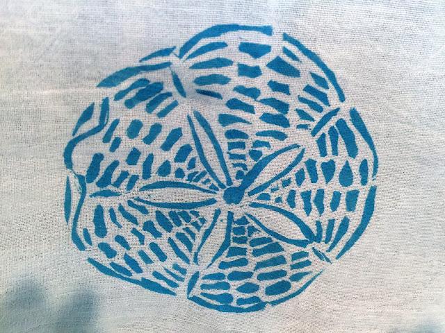 22 Applegate Lane: Tips for Stenciling Flour Sack Towels