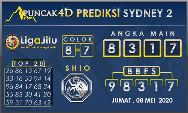 PREDIKSI TOGEL SYDNEY2 PUNCAK4D 08 MEI 2020