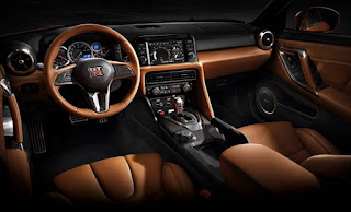 Nissan GT-R Interiors: Mobile Apps, Navigation, and Services