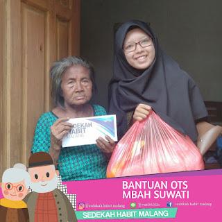 Mbah Suwati : Bantuan OTS