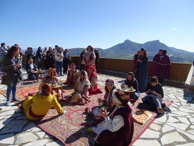 Fiesta mora musulmana vecino Zahara