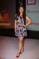 Kyra Dutta in a Deep neck Small Dress at Shamanthakamani pre release function ~  Exclusive 101.JPG