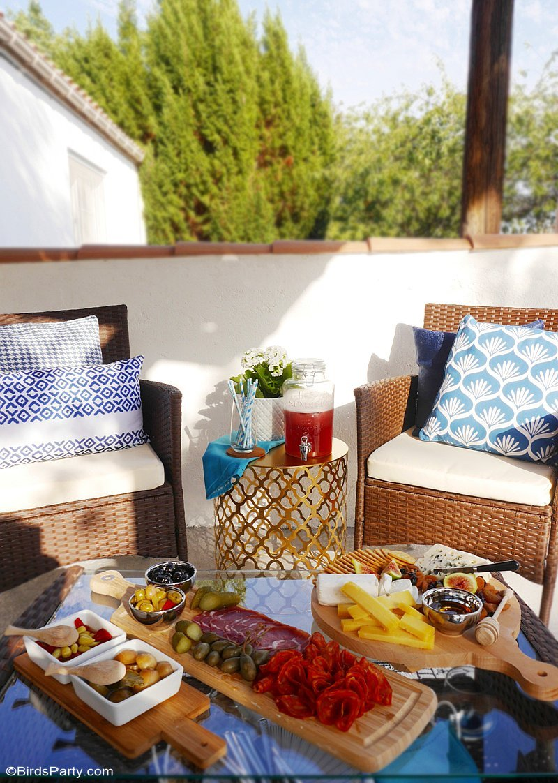 Our Quick Easy End Of Summer Patio Party Party Ideas Party