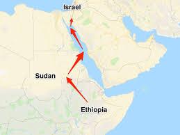 O resort usado pela  Mossad no Sudão