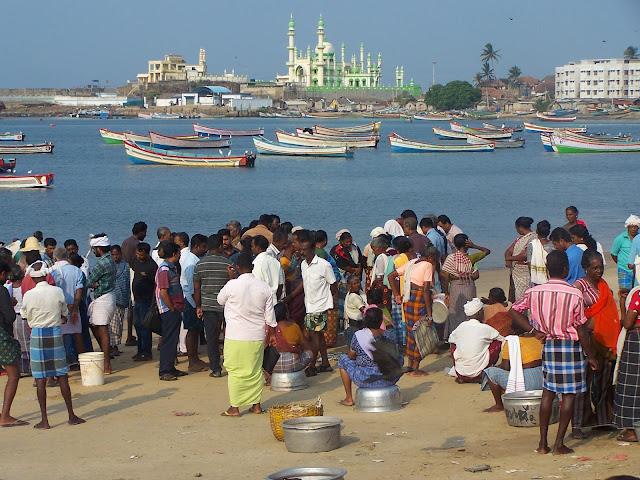 Port de pêche de Kovalam