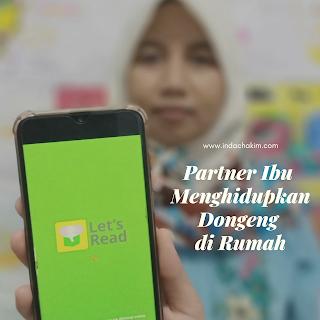 Let's read partner ibu menghidupkan dongeng di rumah