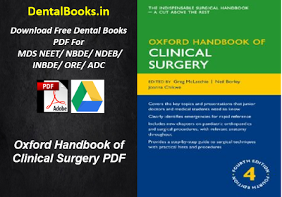 Oxford Handbook of Clinical Surgery PDF DOWNLOAD