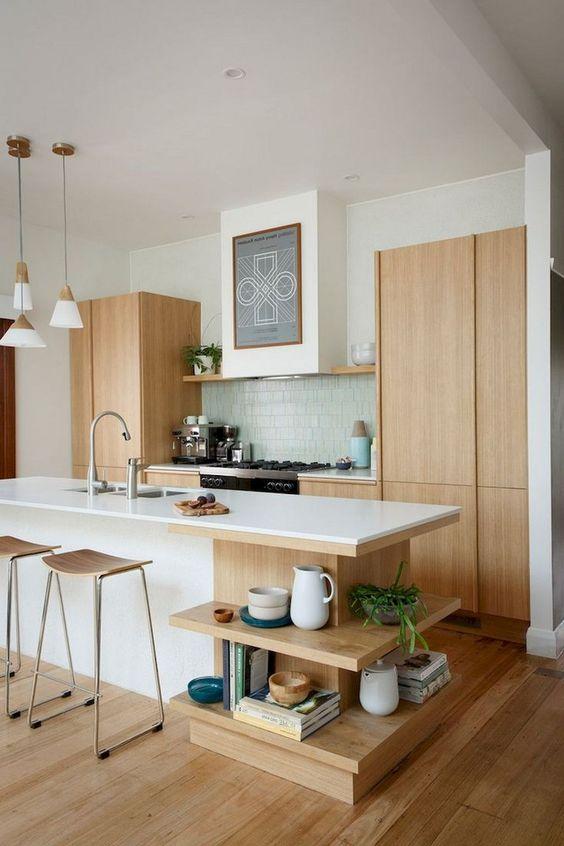 Good Mid Century Kitchen Decor Idea