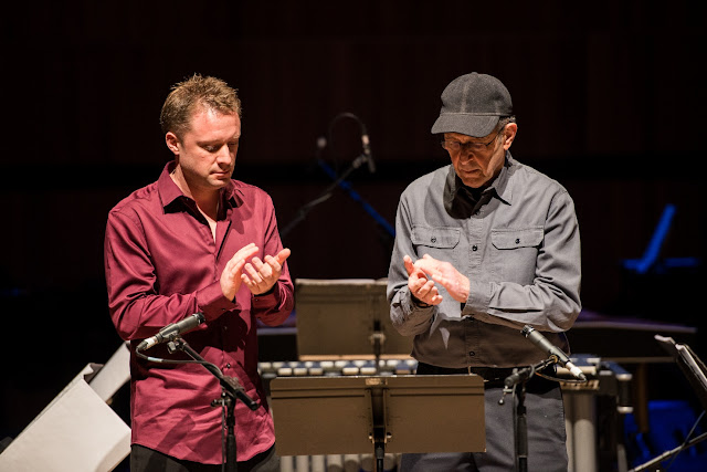 Steve Reich: Clapping Music - Colin Currie and Steve Reich (Photo Ben Larpent)