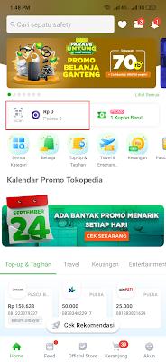 cara menukarkan kode voucher tokopedia dari Yougov
