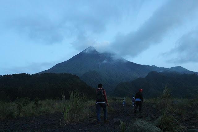 Perjalanan ke Puncak Merapi, Sleman Yogyakarta