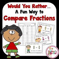 Would You Rather Fraction Task Cards