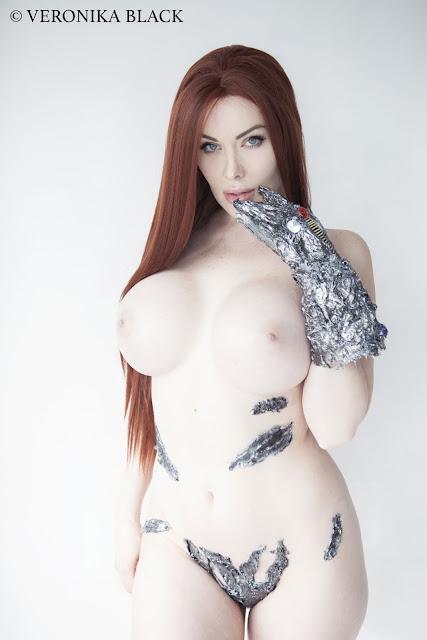 Veronika Black naked cosplay pics gallery