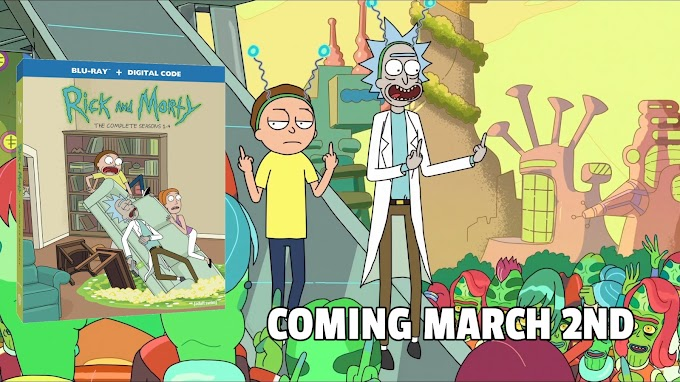 RICK AND MORTY: SEASONS 1-4 - Bring Home The Antics on Blu-ray & DVD March 2 (Warner Bros.)
