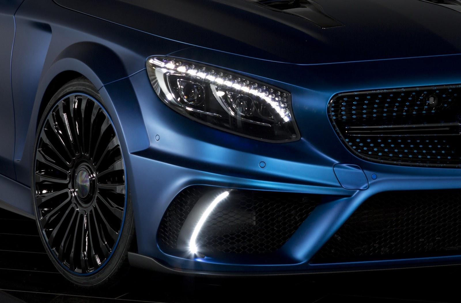 Paul Walker Blue Car Wallpaper Mansory S Mercedes S63 Amg Coup 233 Diamond Edition Has More