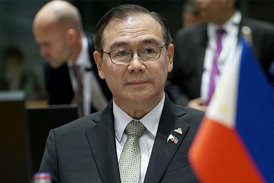 Philippine Foreign Minister Tells China to 'Get the F**K Out' Over South China Sea Dispute