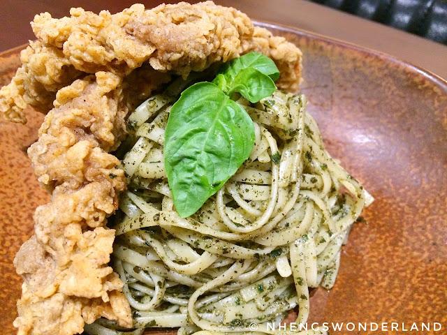 Bluesmith Coffee & Kitchen - Pesto with Country Fried Steak