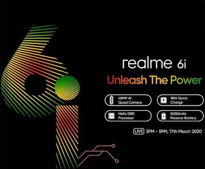 Oppo announces the latest Realme 6i