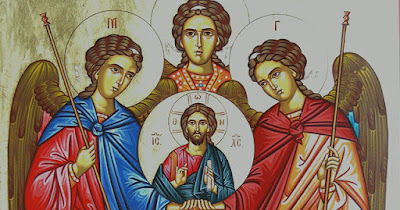 Sts. Michael, Gabriel, and Raphael, Archangels