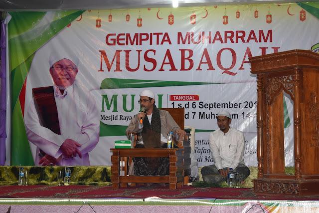 KH. Luthfi Bashori Isi Tausiyah Perayaan Tahun Baru Islam
