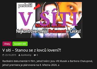 http://azanoviny.wz.cz/2019/10/23/v-siti-stanou-se-z-lovcu-loveni/