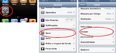 Como colocar teclado Emoji no Iphone/Ipad