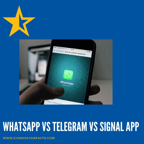 WhatsAppvsTelegramvsSignalApp