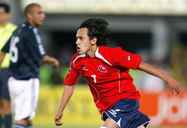 Chile y Argentina en Clasificatorias a Sudáfrica 2010, 15 de octubre de 2008