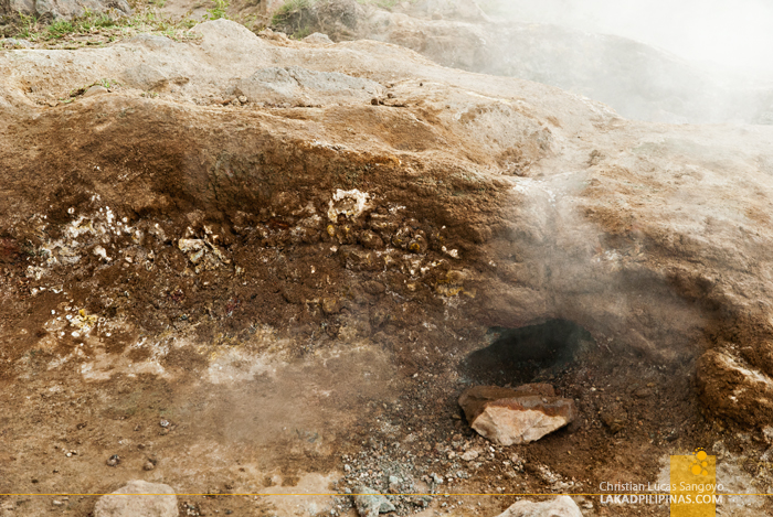 Taal Volcano Hike Sulfur Vents