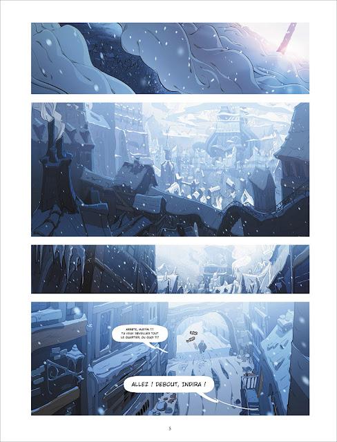 page de DREAM'S FACTORY de Hamon et Zako chez Soleil